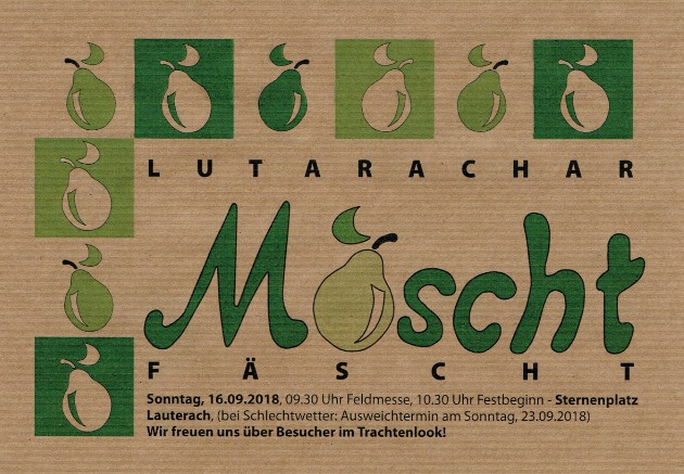 19. Moscht-Fäscht der Bürgermusik Lauterach