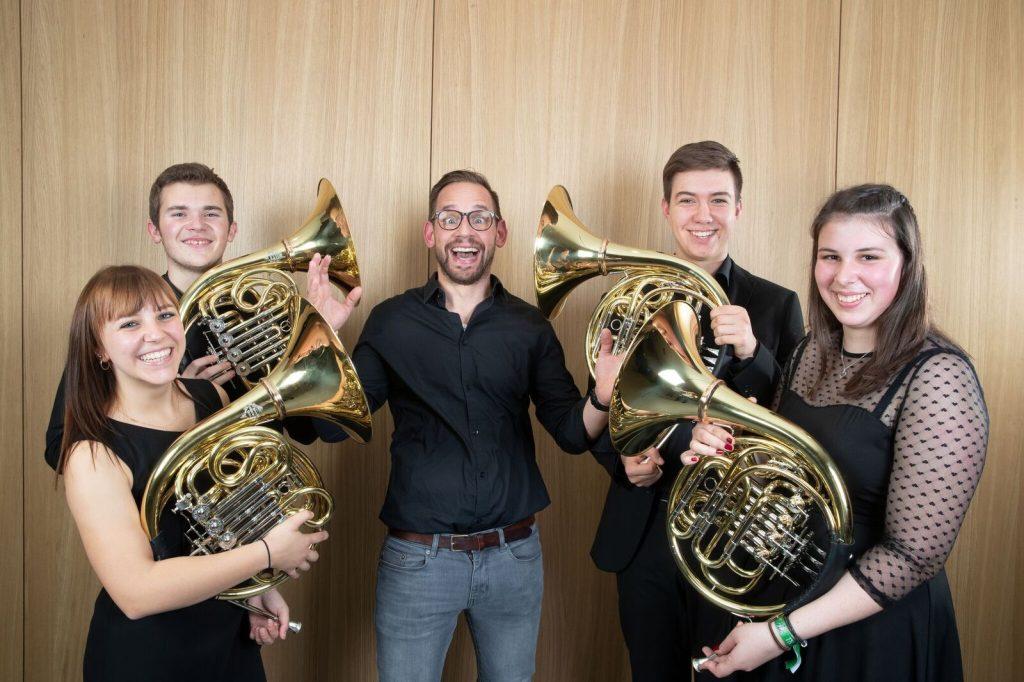 Großartige Ensembles der Bürgermusik Lauterach