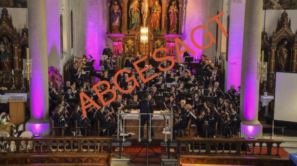 Kirchenkonzert ABGESAGT